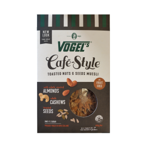 Vogel's咖啡生活系列坚果麦片 400g