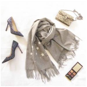 YPL星空围巾-灰色