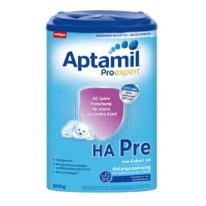 Aptamil 爱他美pre段免敏奶粉 0-6个月 800g 3盒