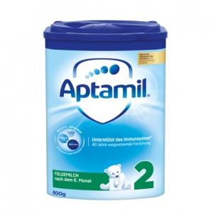 Aptamil 爱他美新版本2段婴儿奶粉 6-10个月 800g 3盒