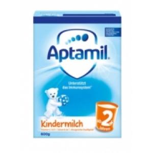 Aptamil 爱他美新版本婴儿奶粉2岁以上 600g 8盒