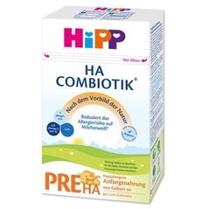 HiPP 喜宝pre段 免敏奶粉 0-3个月 500g 4盒