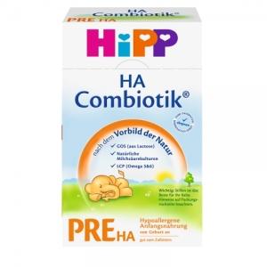 HiPP 喜宝pre段 免敏奶粉 0-3个月 500g 8盒
