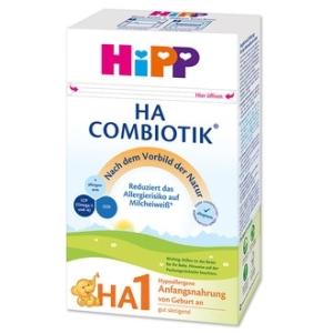 HiPP 喜宝1段 免敏奶粉 0-6个月 500g 4盒