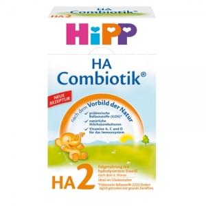 HiPP 喜宝2段 免敏奶粉 6-12个月 500g 8盒