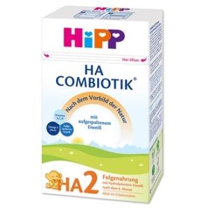 HiPP 喜宝2段 免敏奶粉 6-12个月 500g 10盒