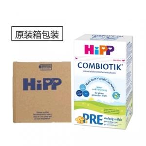 HiPP 喜宝益生菌pre段婴儿奶粉 0-3个月 600g 4盒