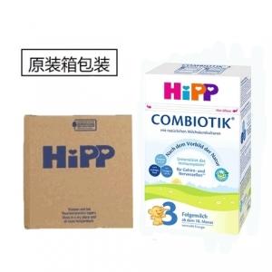 HiPP 喜宝益生菌3段婴儿奶粉 10-12个月 600g 4盒