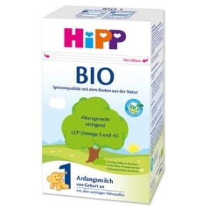 HiPP 喜宝纯有机1段婴儿奶粉 0-6个月 600g 10盒