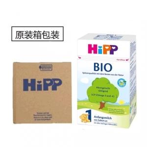 HiPP 喜宝纯有机1段婴儿奶粉 0-6个月 600g 4盒