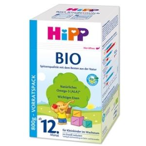 HiPP 喜宝纯有机婴儿奶粉1岁以上 800g 4盒