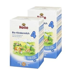 Holle   泓乐有机4段牛奶粉1岁以上 600g 4盒