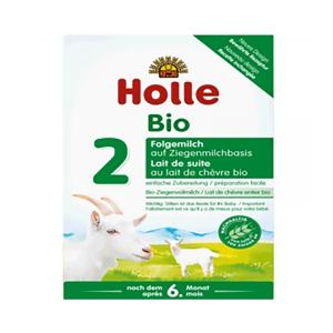 Holle   泓乐有机2段羊奶粉 6-10个月 400g 6盒