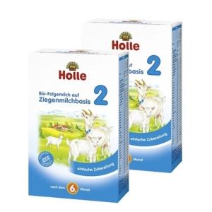 Holle   泓乐有机2段羊奶粉 6-10个月 400g 12盒