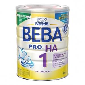 Nestle 雀巢HA系列适度水解奶粉1段免敏婴儿奶粉 3-6个月新包装 800g 6罐装