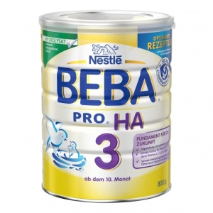 Nestle 雀巢HA系列适度水解奶粉3段免敏婴儿奶粉 10个月以上新包装 800g 3罐装