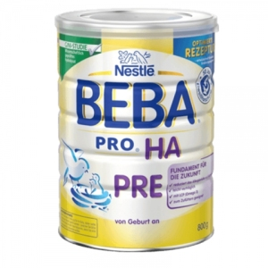 Nestle 雀巢HA系列适度水解奶粉pre段免敏婴儿奶粉 0-3个月以上新包装 800g 6罐装