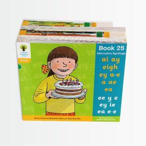 【5-10岁】点读版《牛津阅读树》5阶自然拼读系列42册 分级提升阅读能力 英国80%小学用它学母语 默认规格