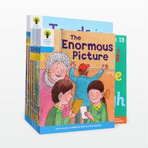 【3-8岁】点读版《牛津阅读树》3阶自然拼读系列30册 分级提升阅读能力 英国80%小学用它学母语 默认规格