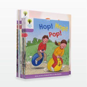 【3-7岁】点读版《牛津阅读树》1+阶自然拼读系列30册 分级提升阅读能力 英国80%小学用它学母语 默认规格