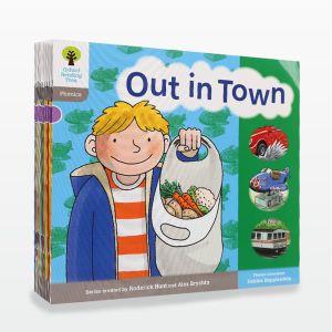 【2-6岁】点读版《牛津阅读树》1阶自然拼读系列无字书12册 提升阅读能力 英国80%小学用它学母语 默认规格