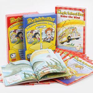 【4岁+】《神奇校车》20册 纯英文自然科普 百科绘本图画书 儿童课外阅读 小升初理科知识书籍 默认规格