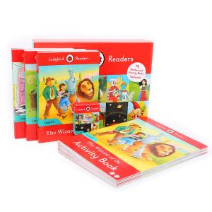 【6岁以上】点读版 Ladybird Readers Level4快乐瓢虫分级读物第4阶 18册 默认规格