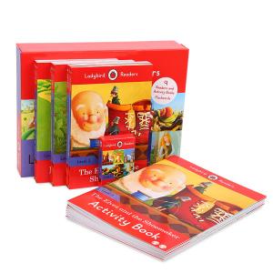 【6岁以上】点读版 Ladybird Readers Level3快乐瓢虫分级读物第3阶 18册 默认规格