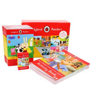【4岁以上】点读版 Ladybird Readers Level1快乐瓢虫分级读物第1阶 30册 默认规格