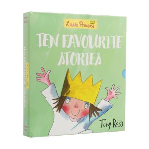 3-8岁《小公主经典系列》英文点读版(10册) 小公主系列绘本10册