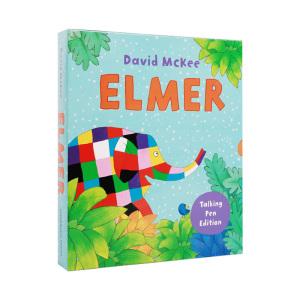 《花格子大象艾玛》英文点读版(10册) 5-9岁适读 花格子艾玛大象10册