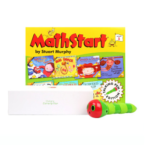 《Math start 第3辑·7册》英文点读数学启蒙分级绘本 4-8岁适读 数学启蒙点读版第一阶(第三辑7册) Math start Level1 Set3