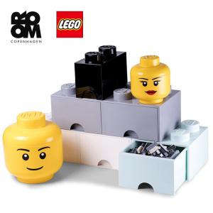 【多款可选】lego乐高万圣节公仔头/大头表情收纳罐 大头表情收纳盒 -男孩款大号8L